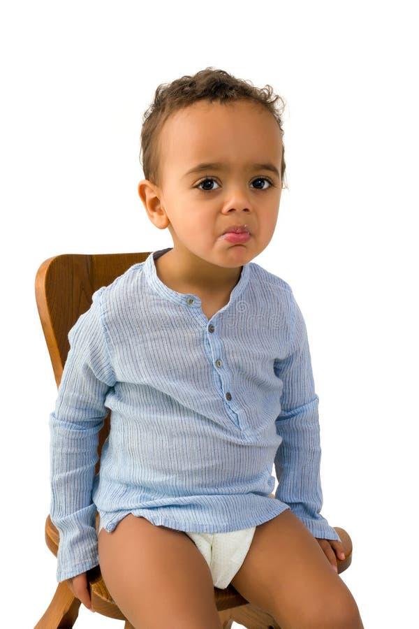 Litet barnmatavsmak royaltyfria foton