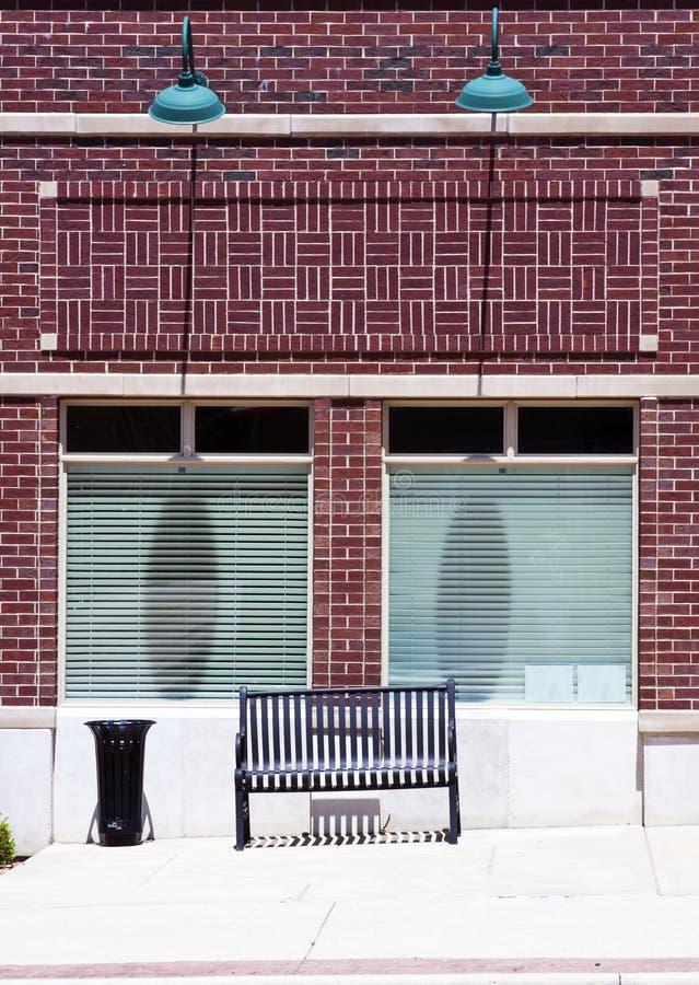 litet byggnadskontor royaltyfri fotografi