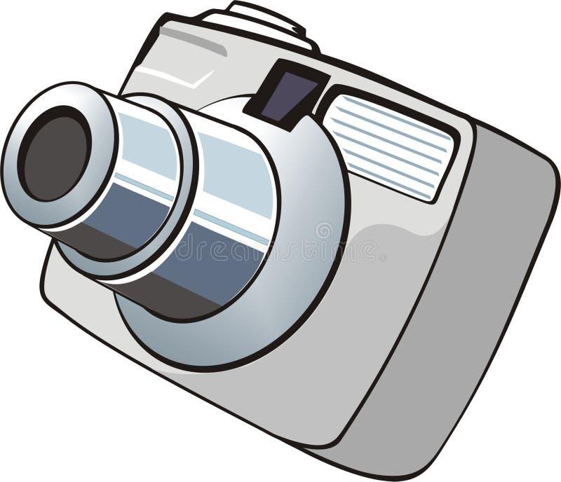 litet digitalt foto för kamera royaltyfri illustrationer