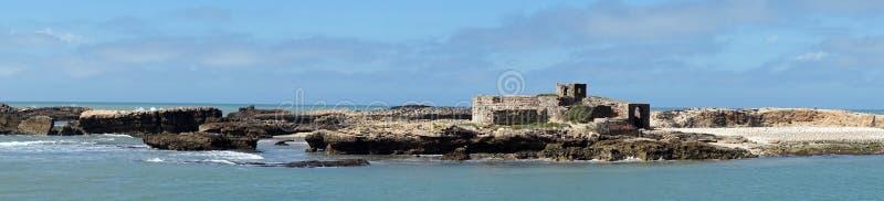 Litet fort på ön royaltyfria bilder