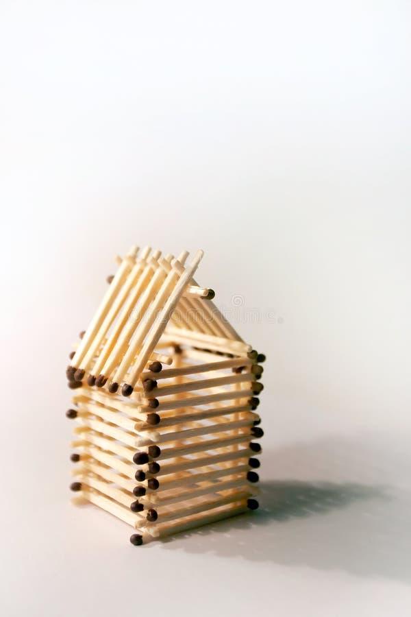 Download Litet hus fotografering för bildbyråer. Bild av matches - 522121