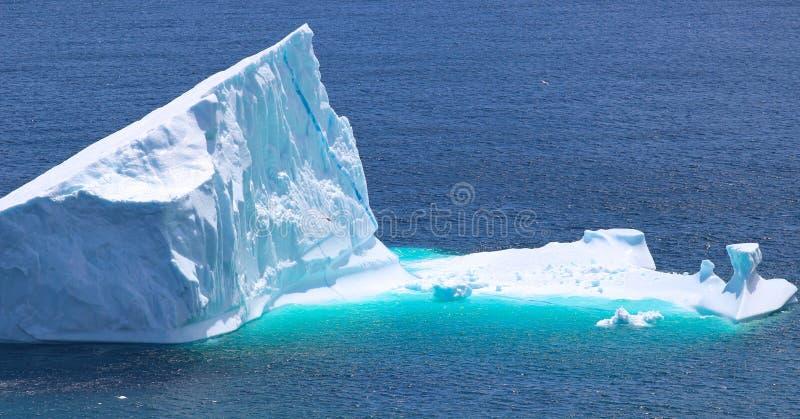 Litet isberg arkivbild