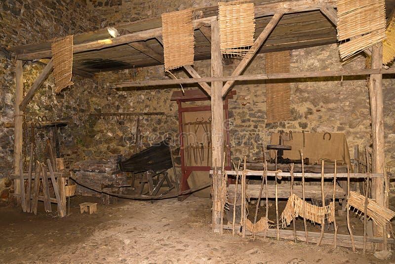 Download Litet Seminarium På Den Corvin Slotten, Hunedoara, Rumänien Arkivfoto - Bild av landmark, riddare: 76701484