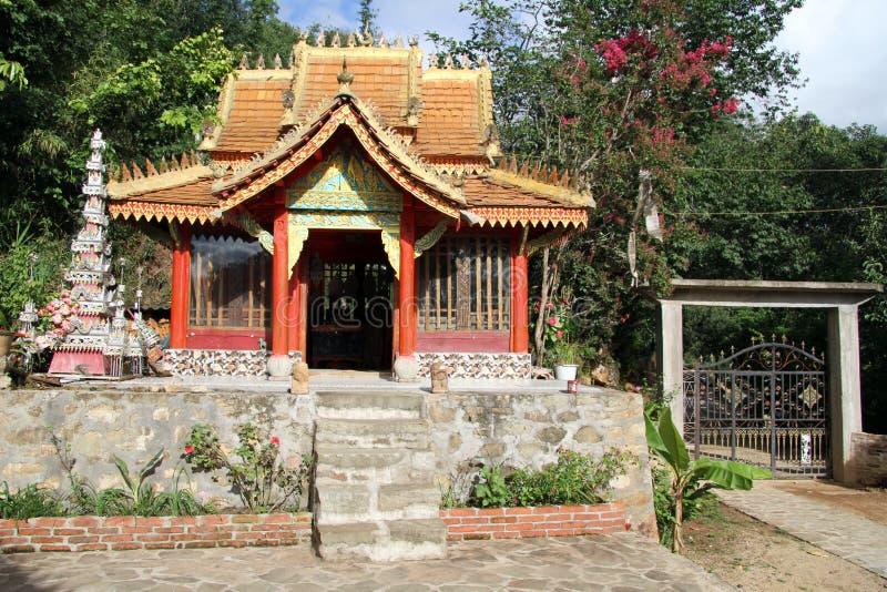 Litet tempel arkivbilder
