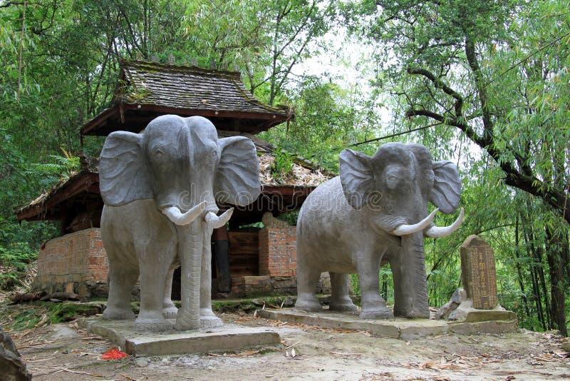 Litet tempel royaltyfria bilder