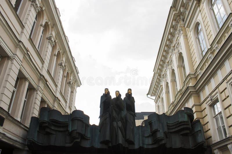 Litewski Krajowy dramata Theatre w Vilnius obrazy stock