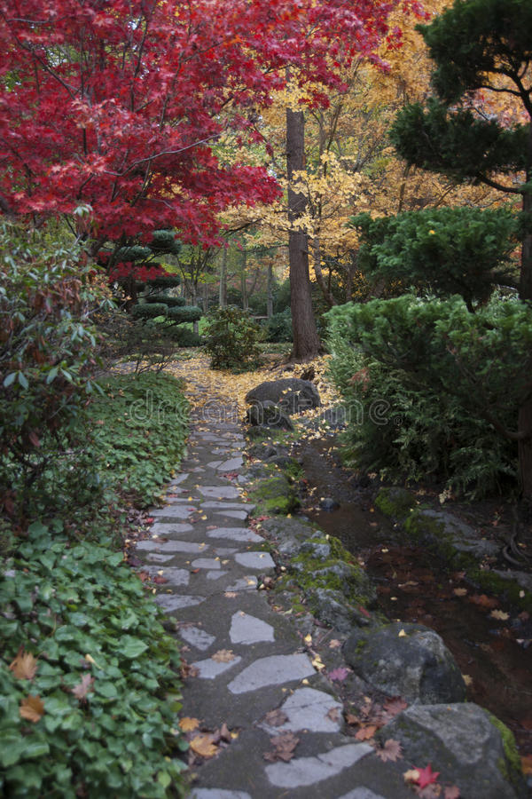 Lithia Park Ashland, Oregon royalty free stock images