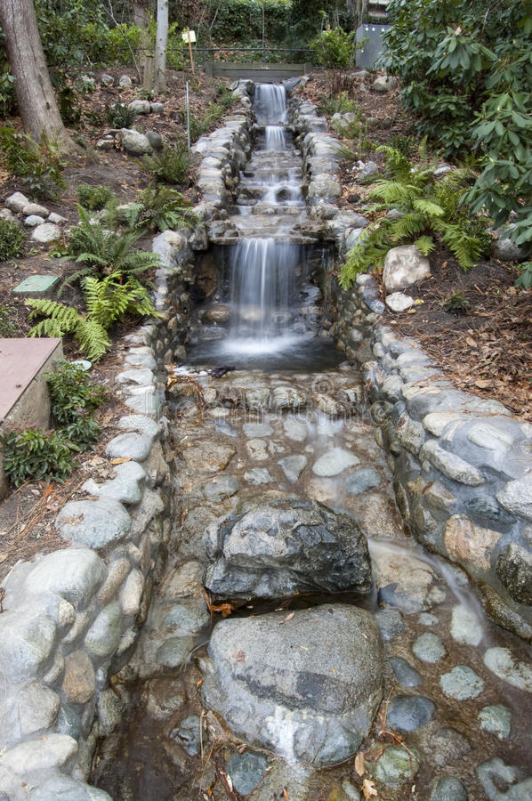 Download Lithia Park Waterfall stock image. Image of blurred, stream - 14355345