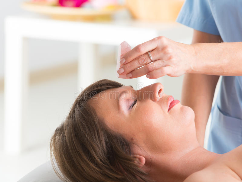 Lithotherapy imagem de stock royalty free