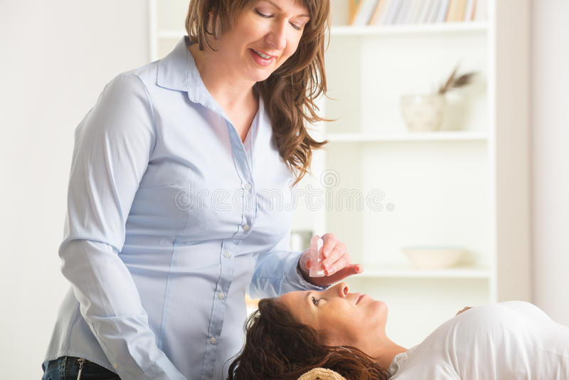 Lithotherapy lizenzfreies stockbild