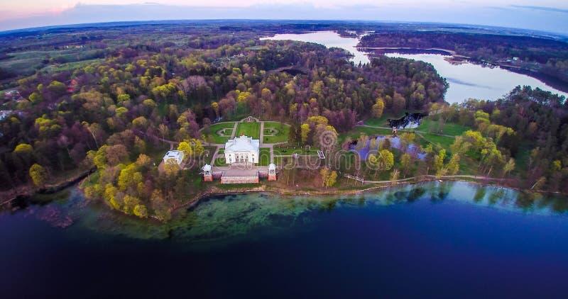Lithuania antena zdjęcie stock