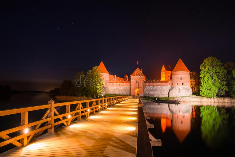 lithuania Ch?teau de Trakai photo stock