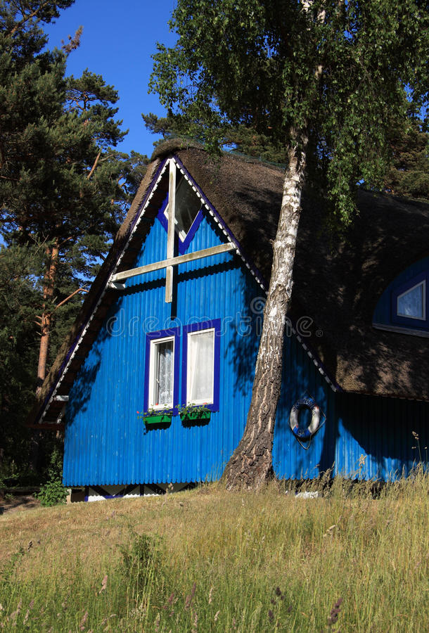 Download Lithuania Klaipeda Typical Wooden Cottage Stock Photo - Image: 23451482