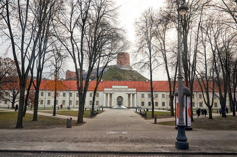 lithuania Musée National letton à Vilnius 31 décembre 2017 image libre de droits