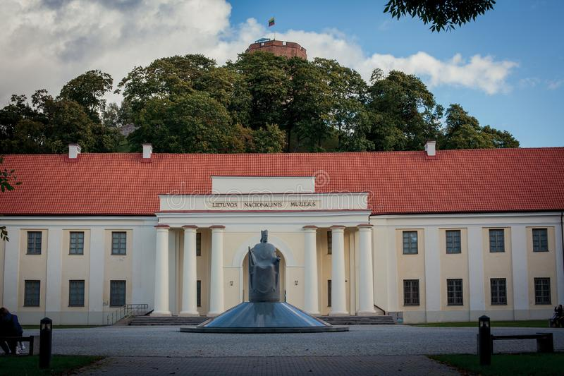lithuania museumnational royaltyfria bilder