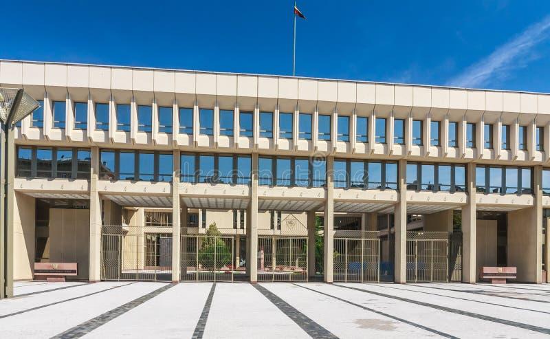 lithuania vilnius Casas do parlamento imagens de stock