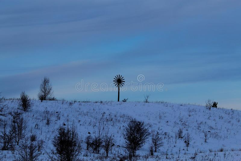 Lithuanian symbol of God of sun stock photography