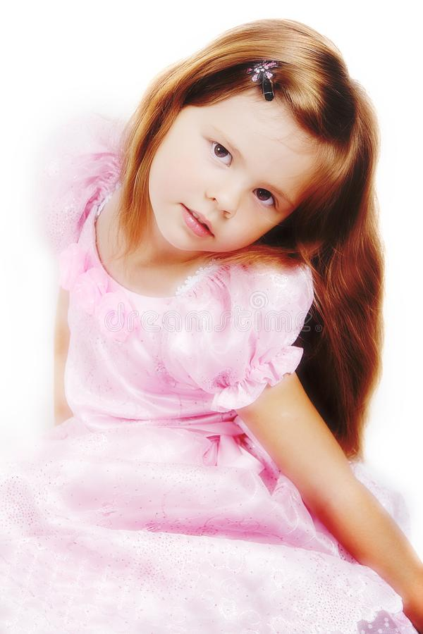 Litle princess stock photo