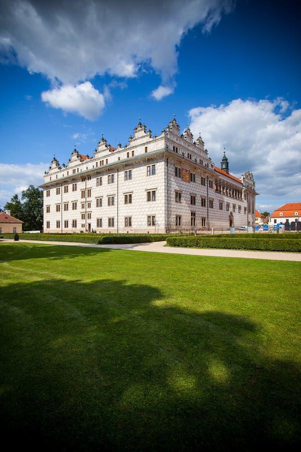 Litomysl宫殿,捷克。 科教文组织 免版税库存照片