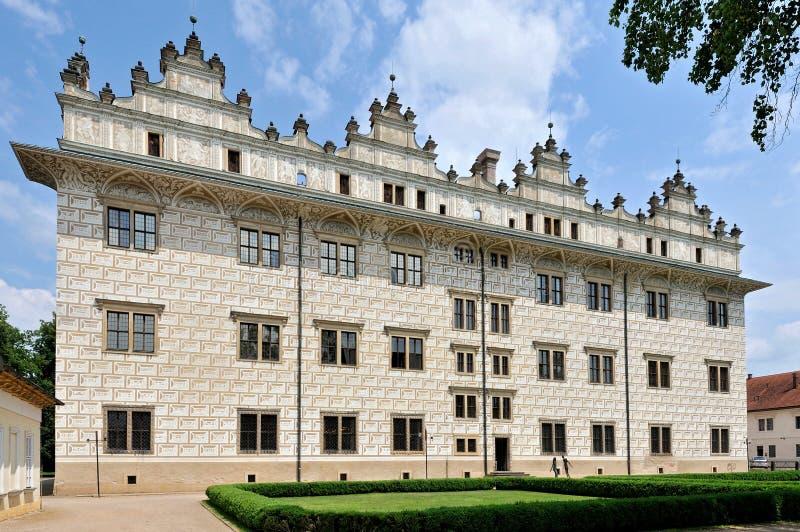 Litomysl-Schloss stockfotos