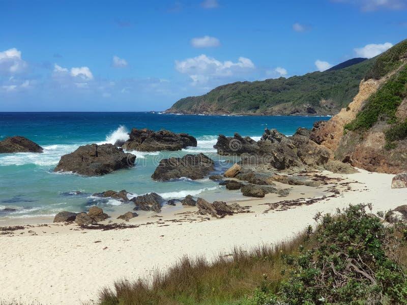 Litoral australiano Burgess Beach imagem de stock royalty free