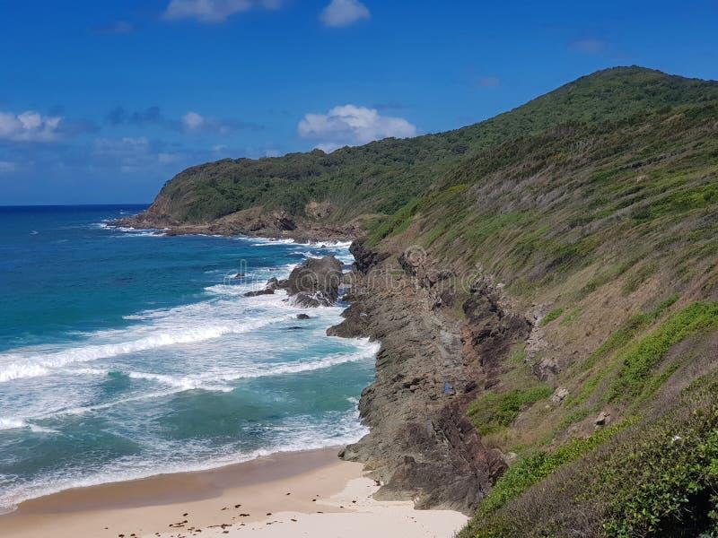 Litoral australiano Burgess Beach imagens de stock royalty free