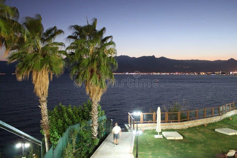 Litoral de Antalya imagens de stock