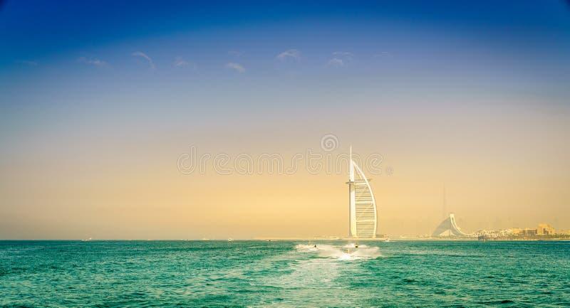 Litoral de Dubai foto de stock royalty free