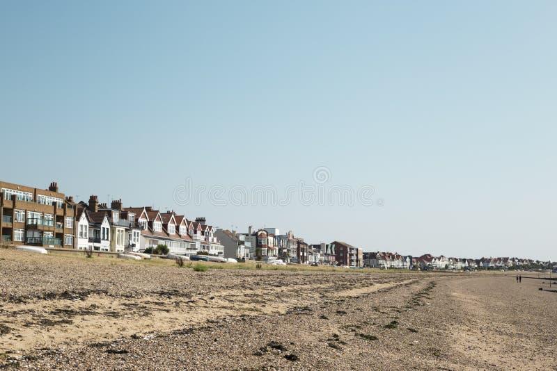 Litoral de Southend no mar, Essex imagens de stock
