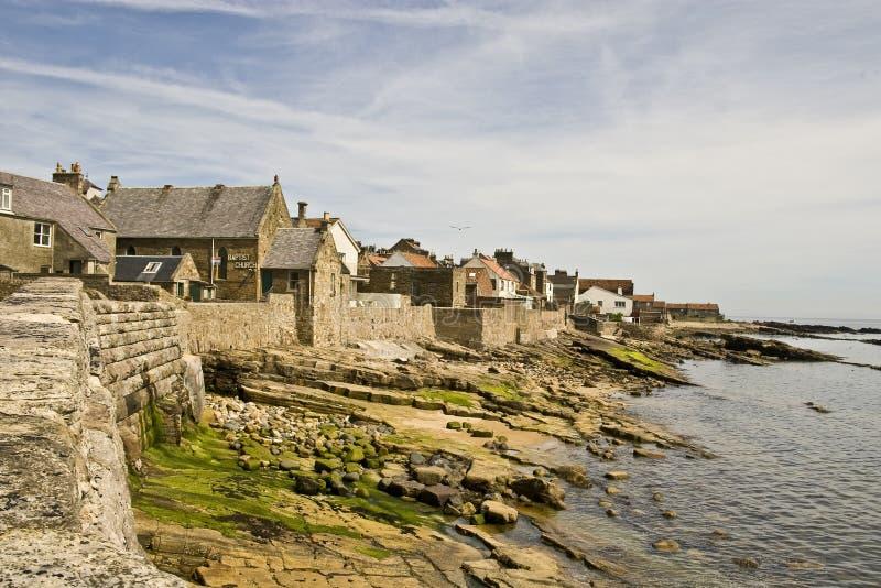 Litoral do Fife fotografia de stock royalty free