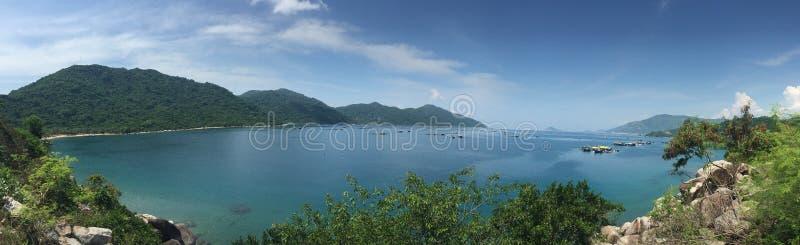 Litoral do mar do Sul da China imagem de stock royalty free