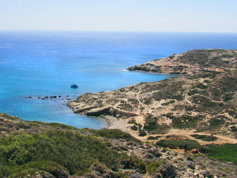 Litoral e praias selvagens foto de stock royalty free