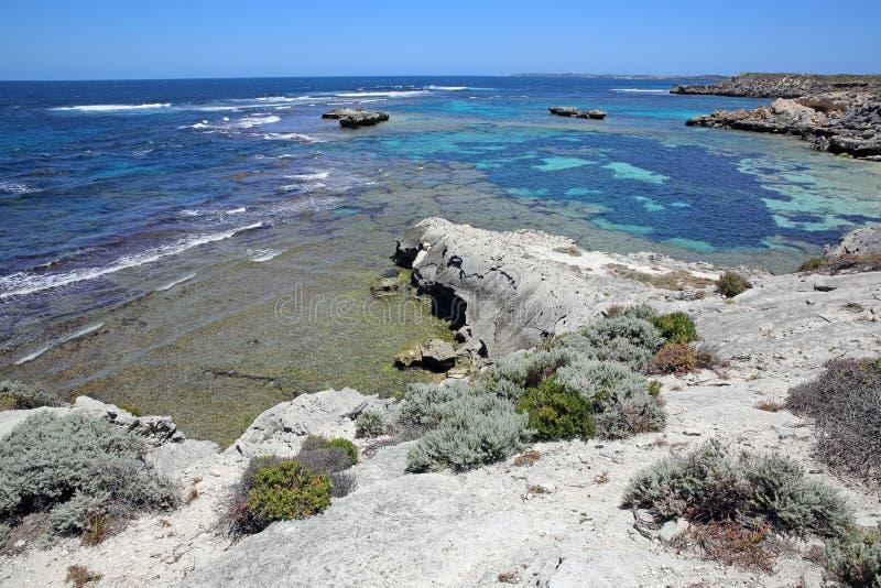 Ilha de Rottnest imagem de stock