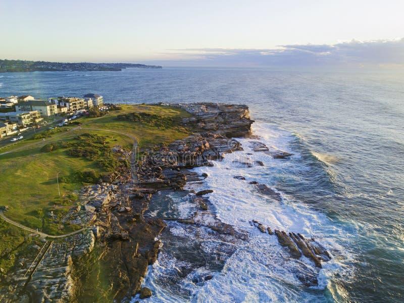 Litoral oriental de Sydney imagens de stock