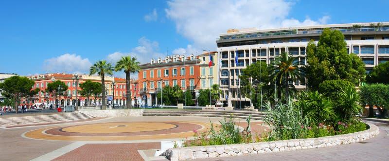 Litorale azzurrato della Francia, Nizza fotografia stock