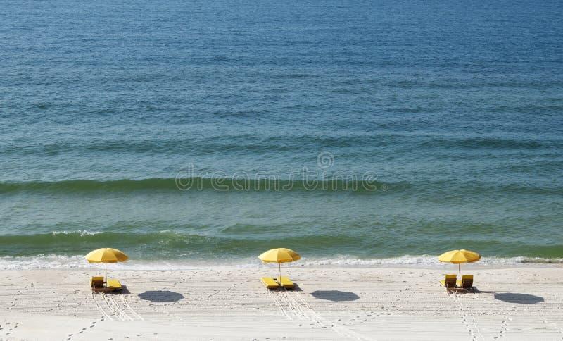 Litorale del golfo della Florida immagine stock
