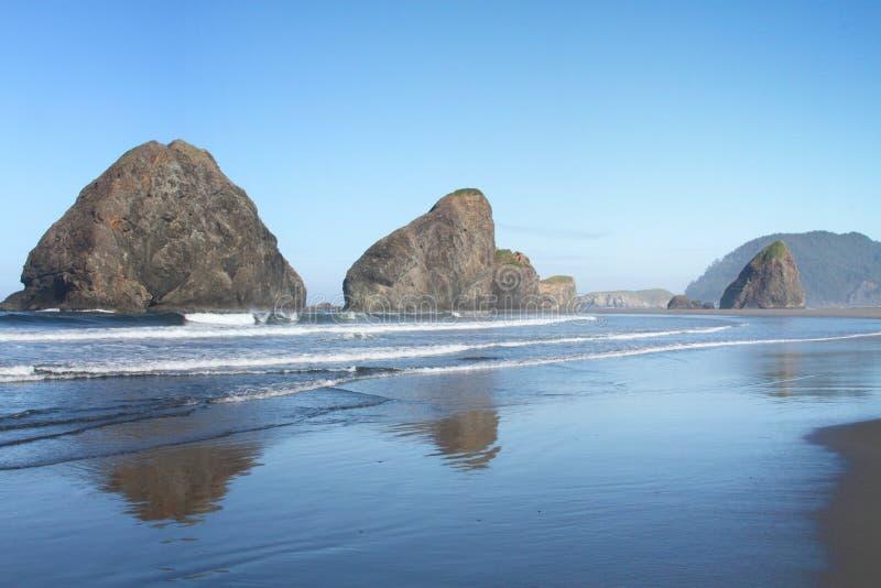 Litorale dell'Oregon fotografie stock libere da diritti