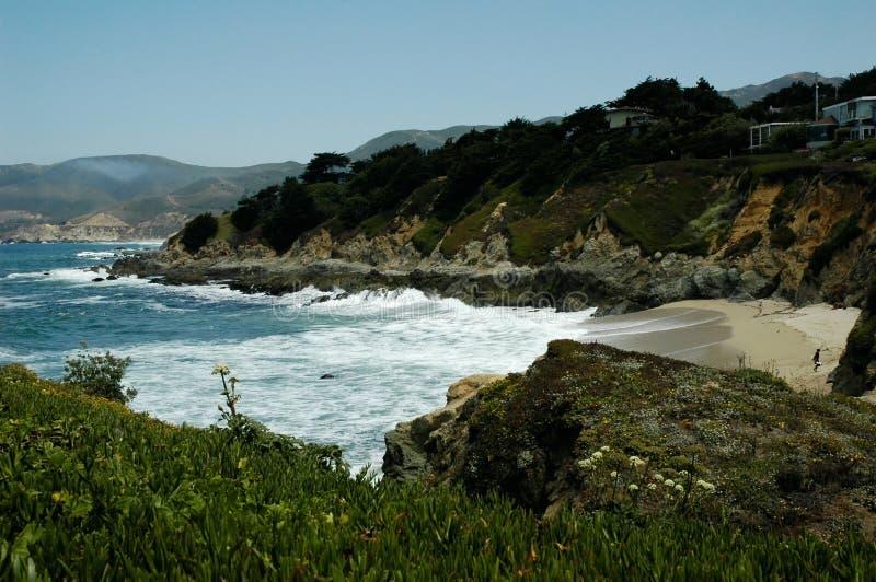 Litorale della California fotografia stock libera da diritti