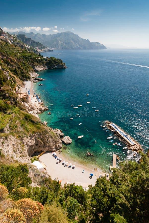 Litorale di Amalfi, Italia immagini stock libere da diritti