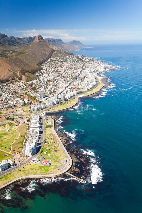 Litorale di Città del Capo immagini stock libere da diritti