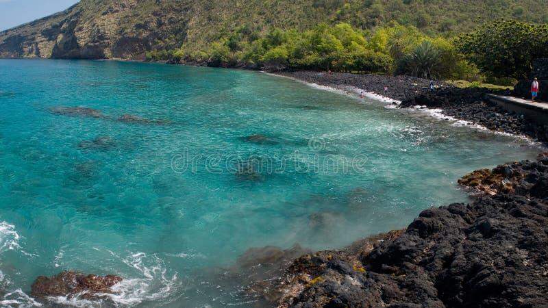 Litorale hawaiano immagine stock libera da diritti