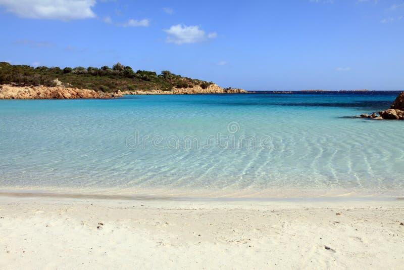Litorale Sardegna di Smerald immagine stock libera da diritti