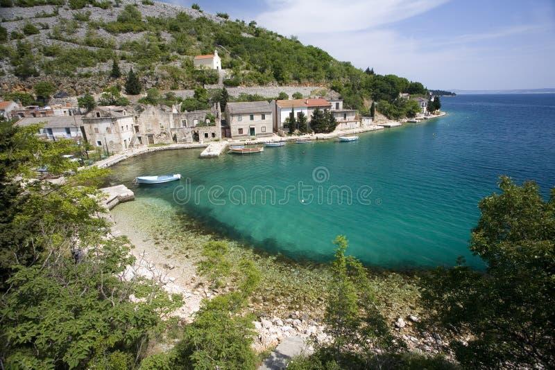Litorali del Croatia fotografia stock libera da diritti