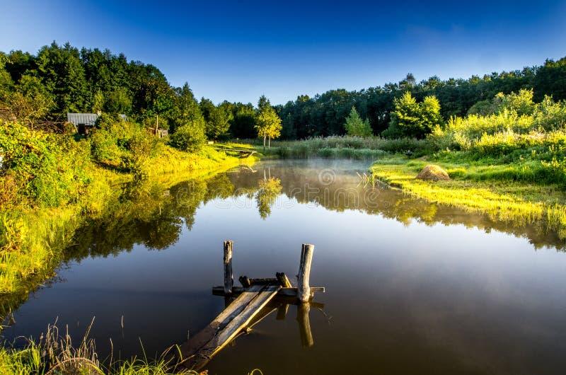 Litouws aardlandschap stock fotografie