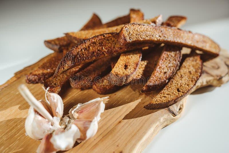 Litouws gebraden brood stock afbeelding