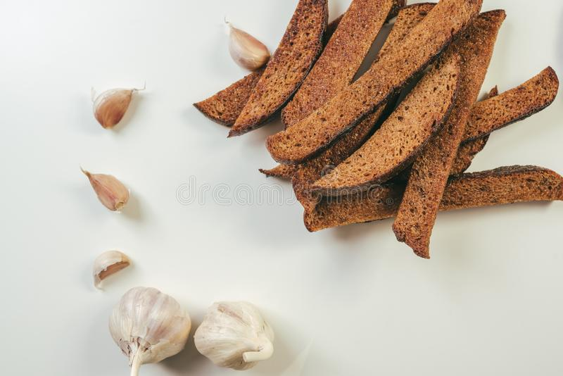 Litouws gebraden brood stock foto's