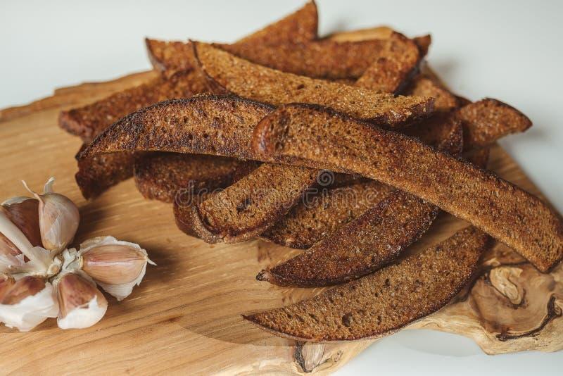 Litouws gebraden brood royalty-vrije stock afbeeldingen