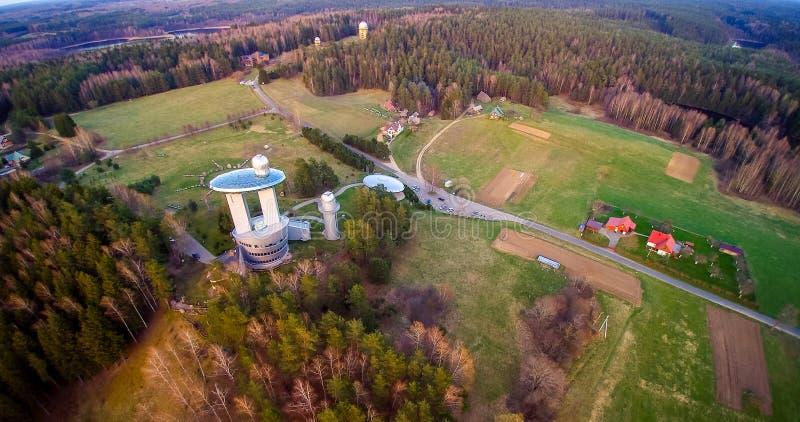 Litouws landschap royalty-vrije stock fotografie