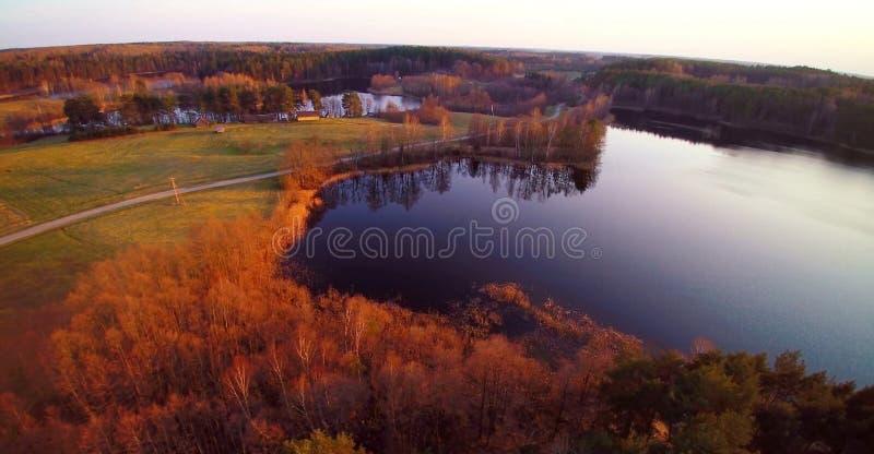 Litouws landschap royalty-vrije stock foto