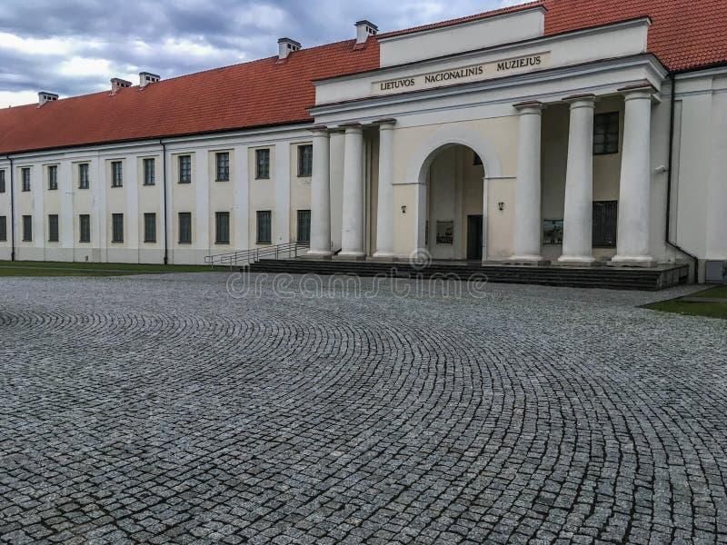 Litouws nationaal Museum stock foto